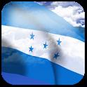 3D Honduras Flag + icon