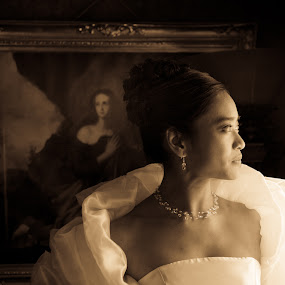 by Alan  Weiner - Wedding Bride