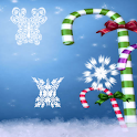 Snowflake Butterflies icon