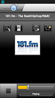 Screenshot of mediaU Radio