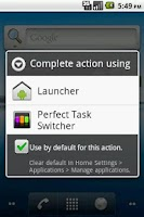 Screenshot of Perfect Task Switcher