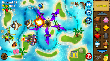 Screenshot of Bloons TD 5