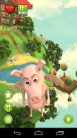 Screenshot of Talking Flying Pig