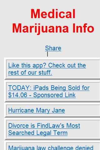 Medical Marijuana News Info
