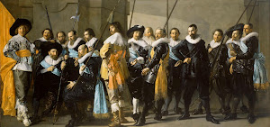 RIJKS: Frans Hals, Pieter Codde: Militia Company of District XI under the Command of Captain Reynier Reael, Known as 'The Meagre Company' 1637