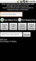 Screenshot of SMS Tools 2
