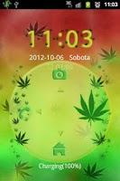 Screenshot of GO Locker Theme Ganja Weed