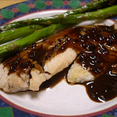 Tilapia With Balsamic Butter Sauce