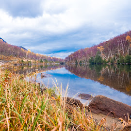Fall Colors in NY by Tufail Syed - Landscapes Mountains & Hills ( nature, fall colors, colors, landscape photography, lake placid, fall, color, colorful )