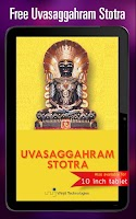 Screenshot of Uvasaggaharam Stotra