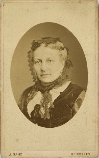 Marie-Louise Philips, mother of Henri and Léonie La Fontaine (1826-1899)