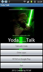 Psycho Yoda Talking Shrink - screenshot