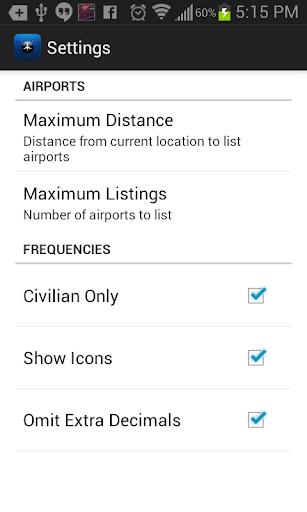 Air Frequencies - screenshot