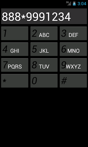 Dummy Dial Pad