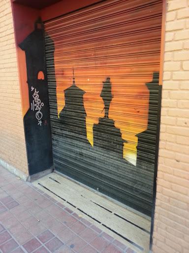 Pintura Skyline Alcalá