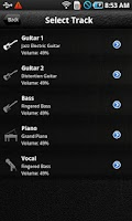 Screenshot of Pocket Jamz Guitar Tabs