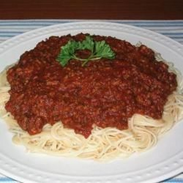 Best Spaghetti Sauce in the World