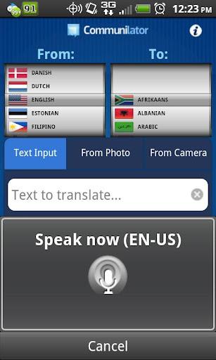 COMMUNILATOR PRO - Translator