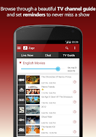 Screenshot of ZAPR - TV guide & companion