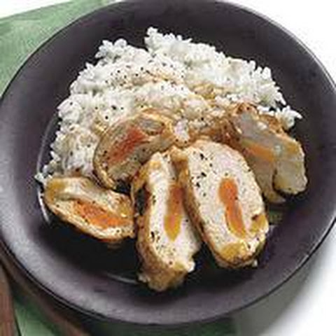 Provolone-and-Apricot-Stuffed Chicken