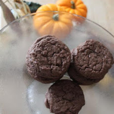 Super Double Chocolate Cookies