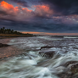 Cloudy of My Heart by Budi Astawa - Landscapes Waterscapes ( bali, cupel, jembrana, cloudy, landscape, negara )