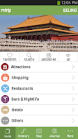 Screenshot of Beijing Travel Guide – mTrip