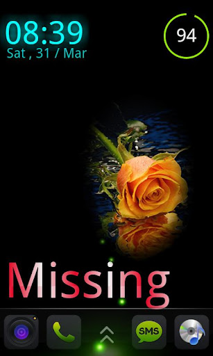 【免費個人化App】The Missing Rose - MagicLocker-APP點子