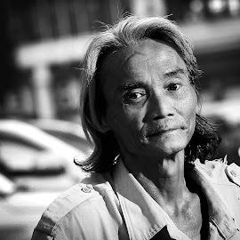 Parking Men by Noel Snpr - People Portraits of Men (  )
