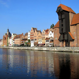 Old Port of Gdansk by João Ascenso - City,  Street & Park  Vistas