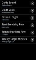 Screenshot of Breathing Zone