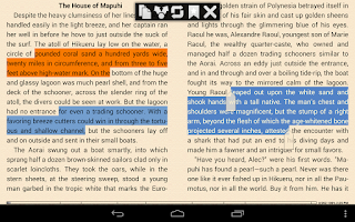 Screenshot of EBook Reader & EPUB Reader