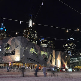 Federation Square, Melbourne by Melanie Chieng - Buildings & Architecture Public & Historical ( buildings & architecture, federation square )
