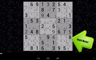 Screenshot of Handwrite Sudoku