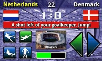 Screenshot of EURO 2012 Game Full