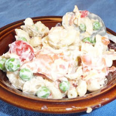 Meal-In-One Macaroni Salad