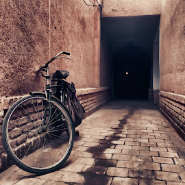 A good sense  by Mahdi Gh B - Instagram & Mobile iPhone ( esfahan, iran, bike, good, sense, iphone, alone, 5s, alley )