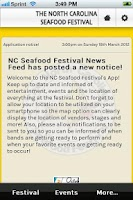 Screenshot of N. Carolina Seafood Festival