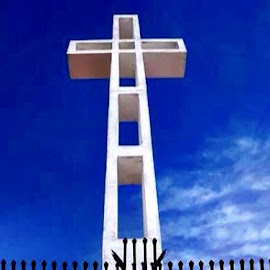 Cross by Lori Fix - Buildings & Architecture Statues & Monuments