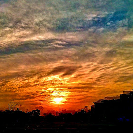 Unforgettable moments  by Kamal Mallick - Landscapes Sunsets & Sunrises ( cloud formations, nature )
