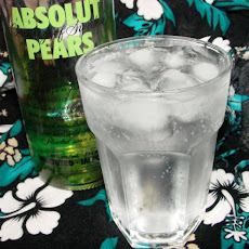 Pear 'n Pop Cocktail
