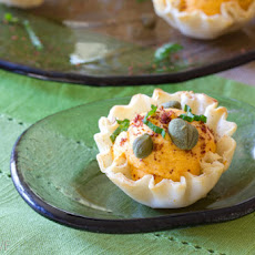 Middle Eastern Deviled Egg
