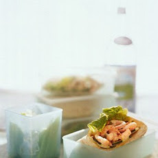 Shrimp Salad Pita