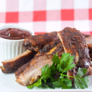 Easy Grilled Baby Back Ribs