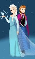 Screenshot of Anna & Elsa Puzzle Games