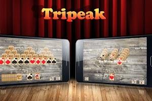 Screenshot of TriPeaks Solitaire Free