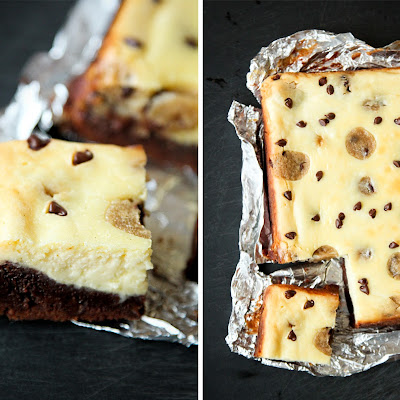 Cookie Dough Cheesecake Brownies