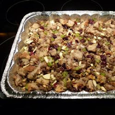 Sausage, Apple, and Cranberry Dressing
