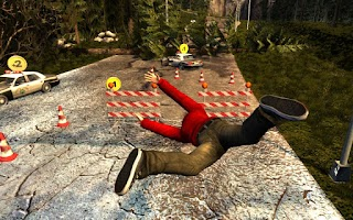Screenshot of Flatout - Stuntman