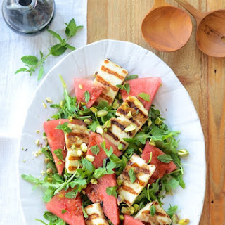Grilled Haloumi & Watermelon